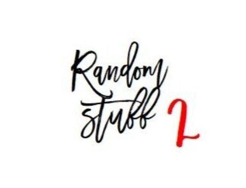 RANDOM STUFF – #2