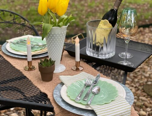 EASTER TABLE 2020 – reboot …