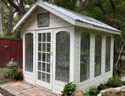 My Little Texas Greenhouse …