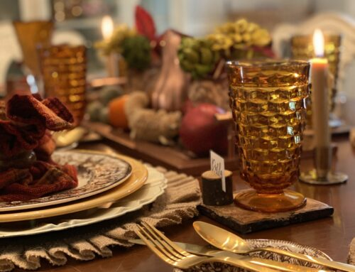 A Thrifted Vintage Fall Tablescape …