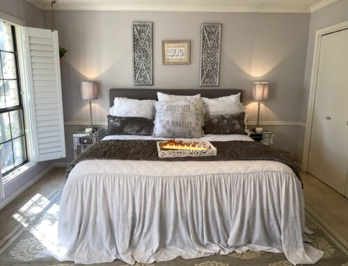 Bringing Fall Touches to a Guest Bedroom …