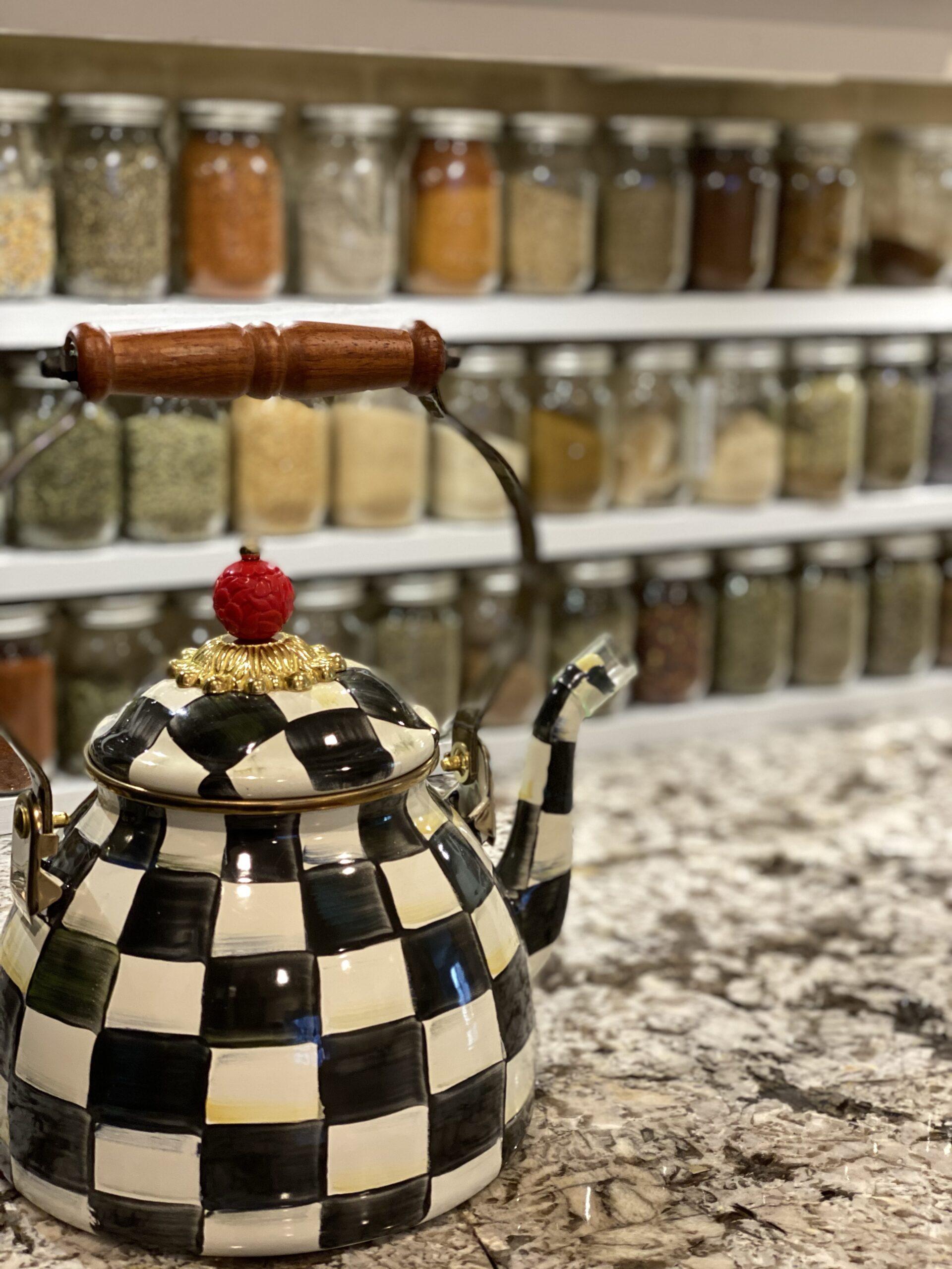 Spice Rack MacKenzie Childs Tea Pot